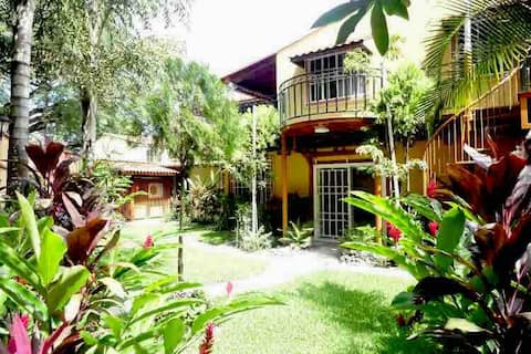 Casa Linda with Two Terraces in Gated Community