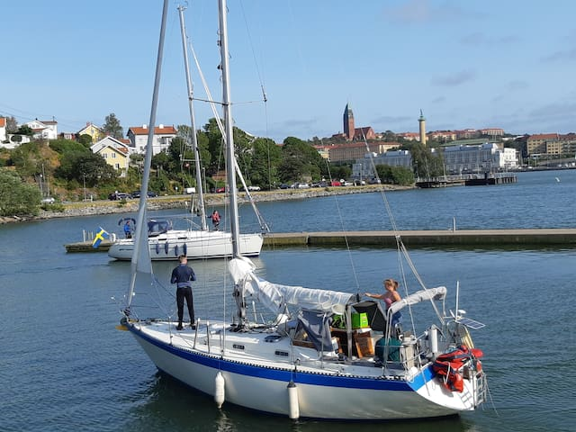 Cosy yacht close to center of Gothenburg