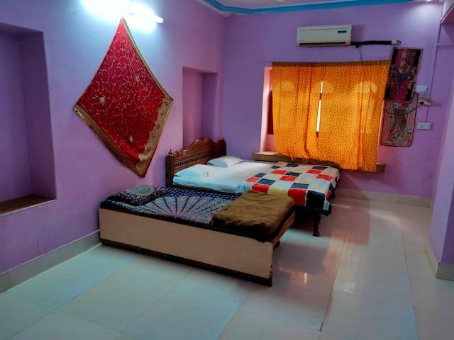 Rajasthani Style Room