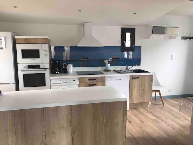 Andernos Les Bains maison avec spa
