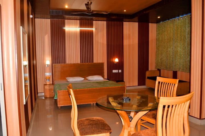 Deluxe Room in Budget Hotel with modern facilities