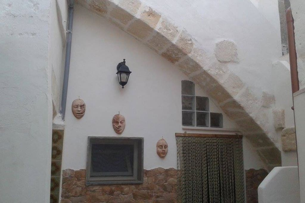 facciata interna