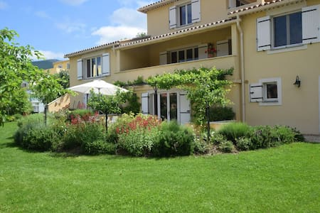 Charming Apartment in Montbrun-les-Bains with Balcony