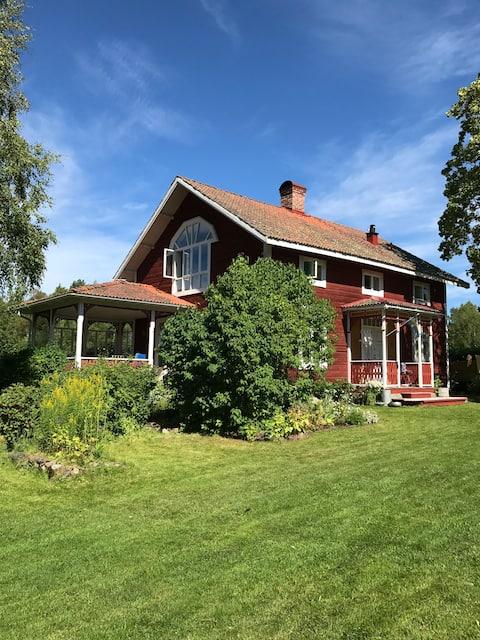 19th century Dalarna farmstead in Tällberg/Laknäs