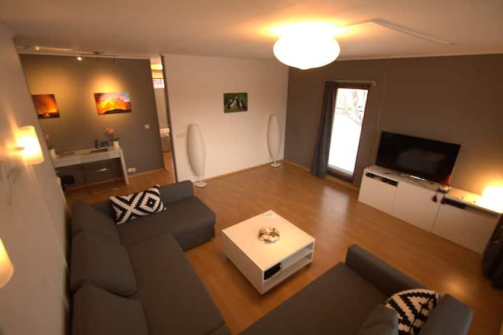 Modern, stijlvol huis in Selfoss
