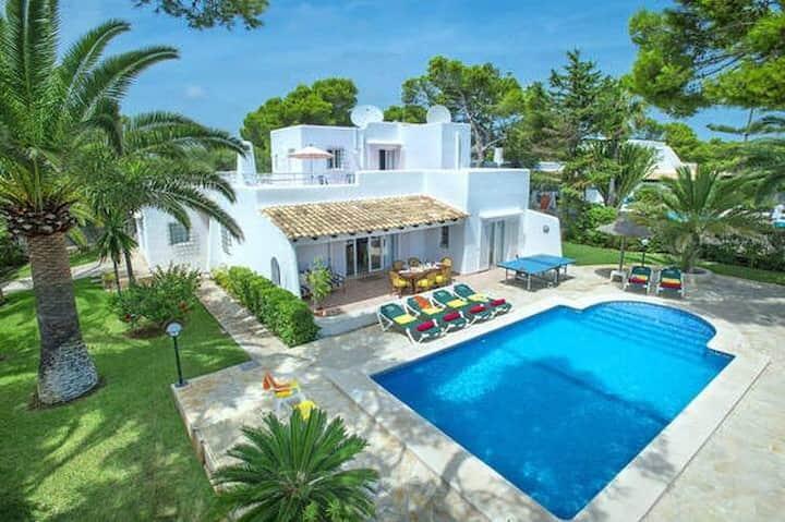 Villa Teresa con piscina privada en Cala Serena