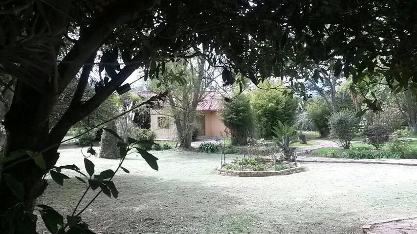 NOBSA,CHALET CAMPESTRES EL TRÉBOL. - San Martín - Casa