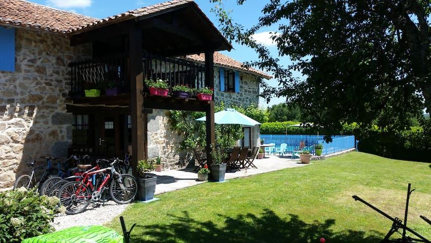 Les Casaniers La Grange -House and PRIVATE POOL