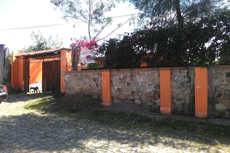 Casa cabaña campestre! Muy amplio - Agua Escondida