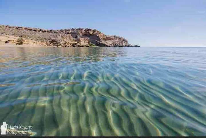 Adosado al lado de playa de Calabardina Cabo cope