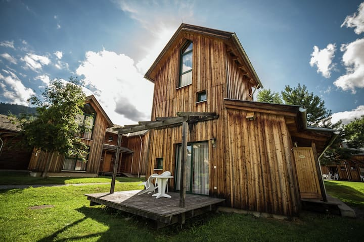 Casa de vacaciones con encanto en Sankt Georgen ob Murau cerca del río