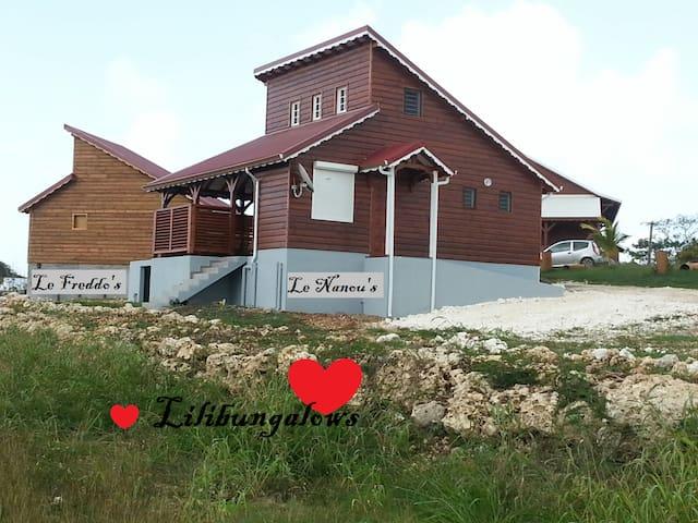Lilibungalows: le Nanou's. - Capesterre-de-Marie-Galante - Bungalo