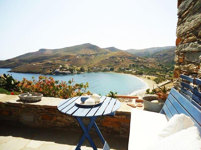 Summer House w/amazing sea views - Kea