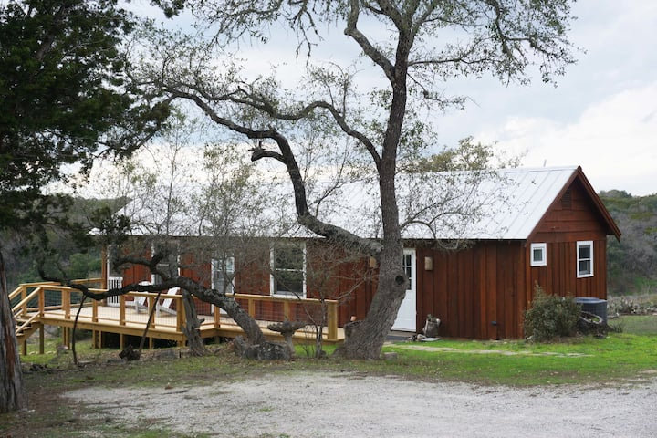 Burnett Ranch Cabins- Prickly Pear . Located just outside Wimberley.