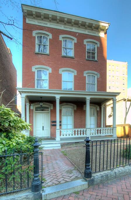 This home was built in the late 19th century