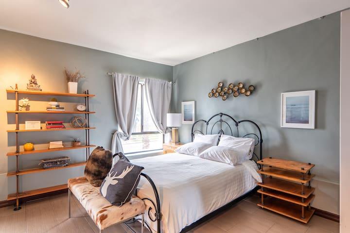 Beach view studio - cozy space for short trip