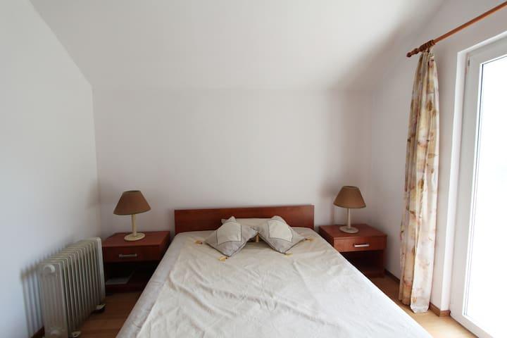 Bedroom 3 - 1 double bed, own bathroom, balcony