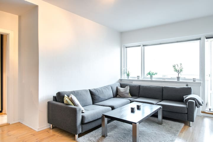 55 Sqm Central Modern Apartment With Huge Balcony - Oslo - Apartamento