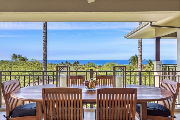 Spacious Luxury Villa w/Ocean Views, A/C, & Pool. Hainoa Villa (2901D)