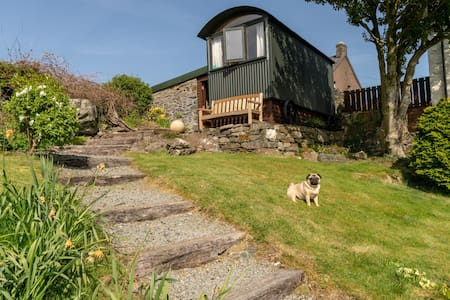 Luxurious Shepherds Hut in stunning Snowdonia