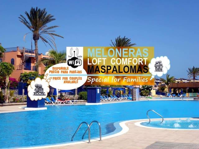 MASPALOMAS Comfort Playa MELONERAS Beach