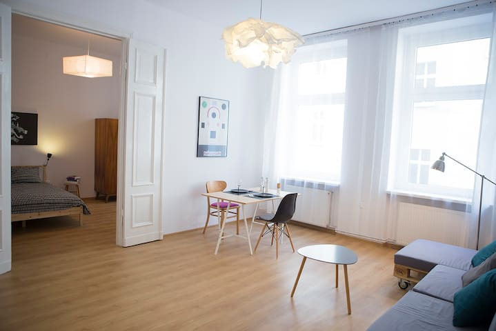 Scandinavian apartment in old town - Poznań - Appartement