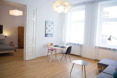 Scandinavian apartment in old town - Poznań