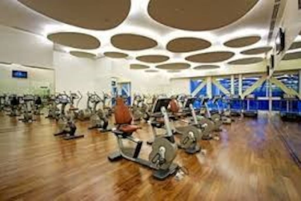 Free fully equipped, state of the art gym