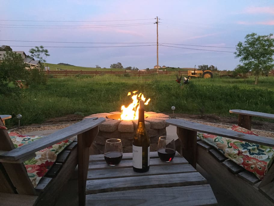 Evening by the fire