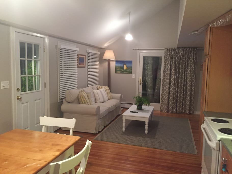 Great space for unwinding after day at the beach or playing tourist across the many wonderful towns on Cape Cod.