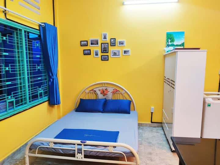 35m2 Tan Binh studio, 15mins to the airport and D1