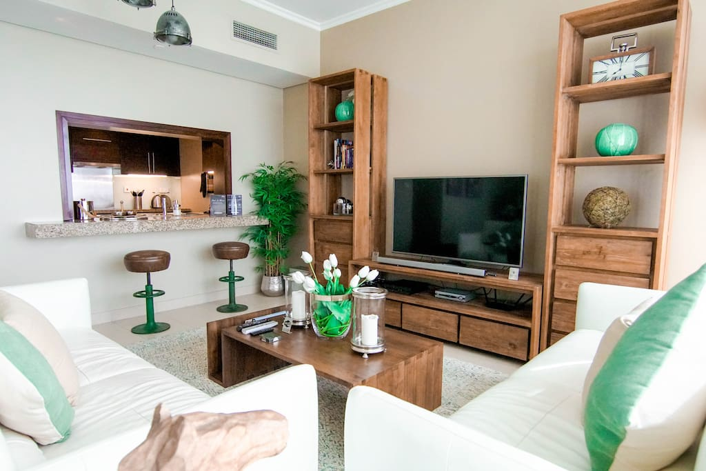 Delight your senses in our vast and spotless living area
