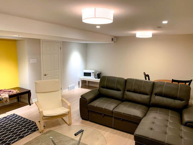 Clean Spacious Basement Suite