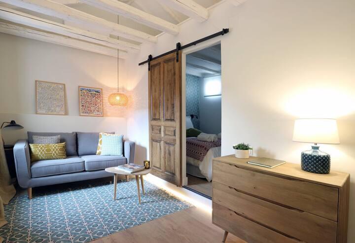 Cosy apartment in the cosmopolitan Gran Vía