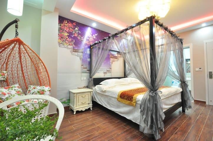 Airbnb首推 17年临河新装修新店,豪华装修,房间随意挑选 - Jiaxing - Boutique-hotelli