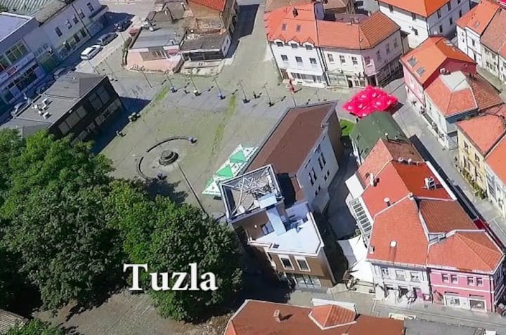 Tuzla-Old Town-Centre-Salt Square ('Solni trg')