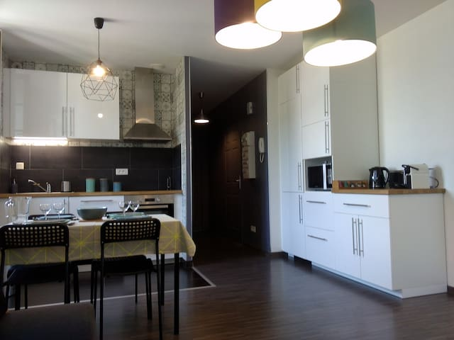 Agréable appartement F2 Cosy tout confort THERMES