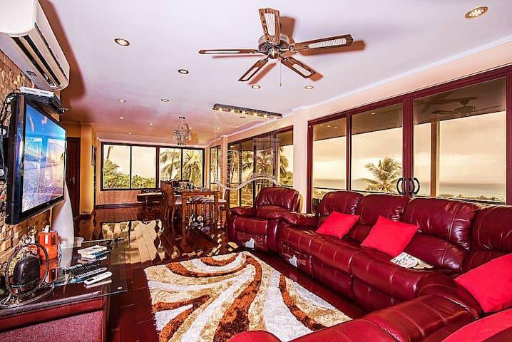 Villa Soht Morakat | 4 Bed Koh Samui Hilltop Pool - Amphoe Ko Samui - Villa