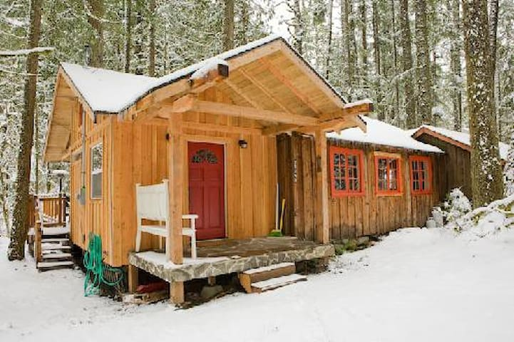 Podunk Cabin on Mt Hood with  Hot Tub