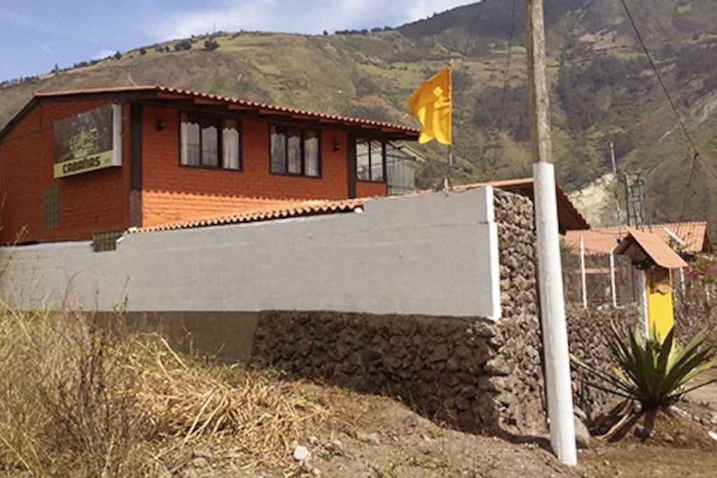 Entrada Cabaña Las Marías