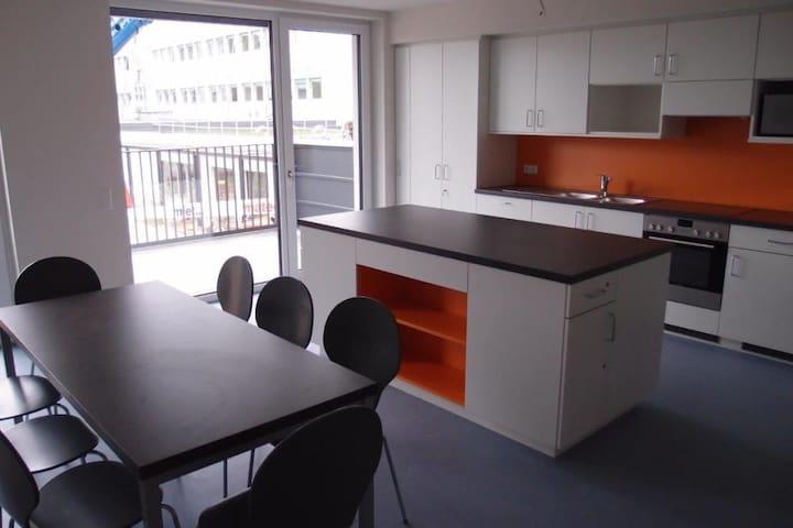 1 Schlafzimmer + eigenem Bad 5 Min vom Stadzentrum - Hannover - Lägenhet