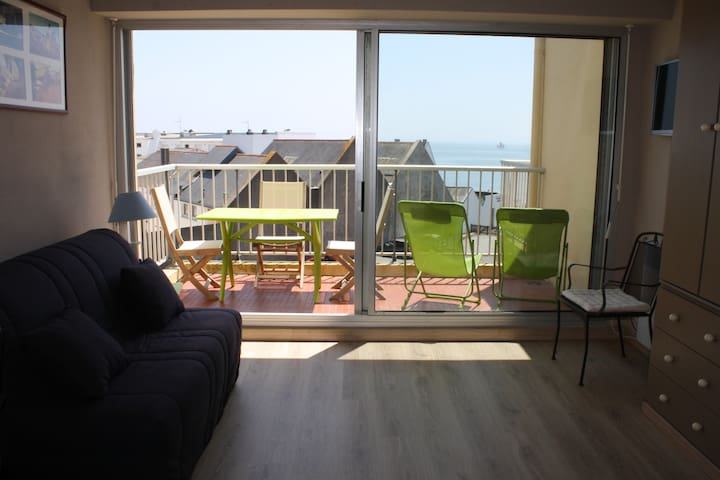 Studio à Quiberon avec Vue sur Mer - Quiberon - Apartment