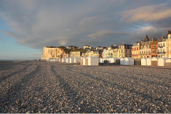 Villa Mers-les-Bains quartier classé 100 m plage