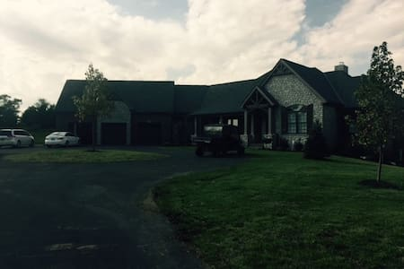 best of both working farm, new construction - Liberty Township