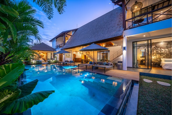 New villa on Echo Beach Canggu. La Residence ANAM 2