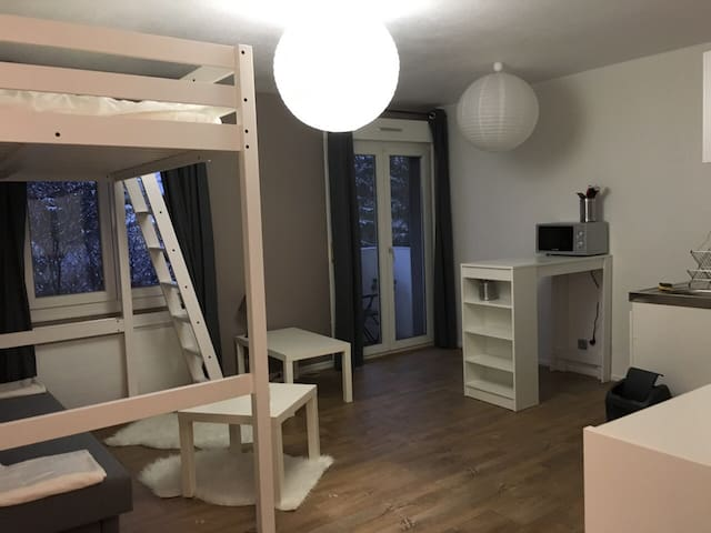 Studio centre ville à 5mn du tram - Mulhouse - Appartement