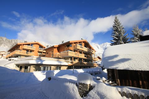 Alpen Apartment mit privater Sauna