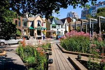 Yorkville Neighbourhood. 5min walk.