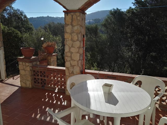 Studio with indoor terrace for 2 in beautiful area - Sa Riera - Apartament