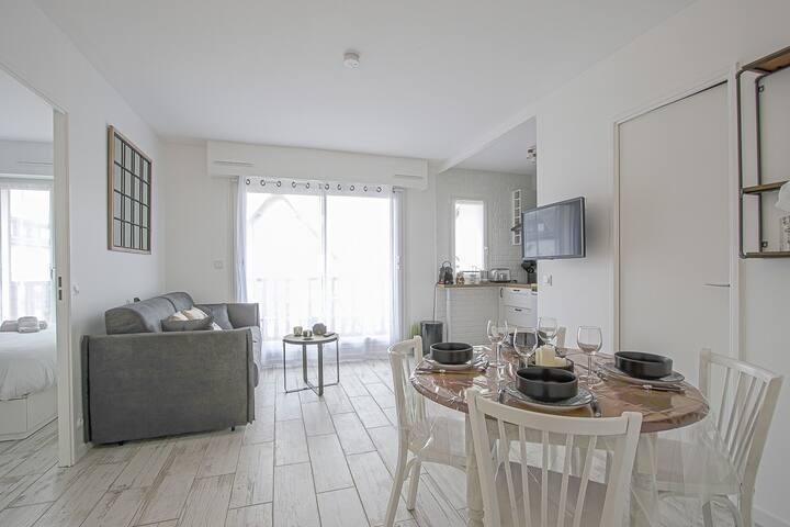 Seaside apartment, near Deauville